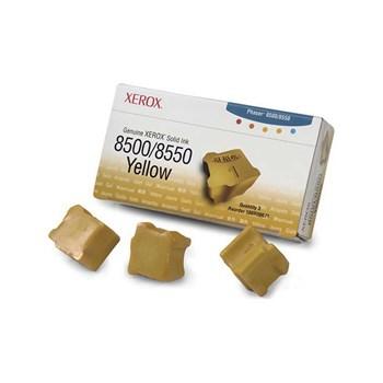 Cartus, yellow, 3 sticks, XEROX 108R00671