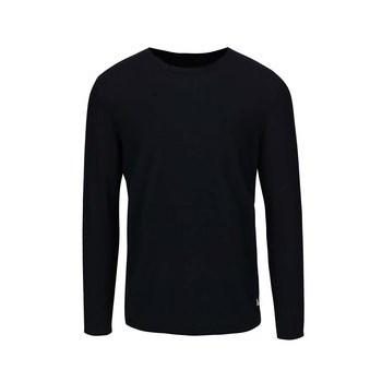 Bluza din jerseu albastra inchis Jack & Jones Argo