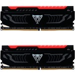 Memorie Patriot Viper LED Red 8GB DDR4 3000 MHz CL15 Dual Channel Kit