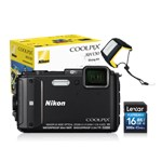 COOLPIX WATERPROOF AW130 Diving Kit (black) VNA840K002