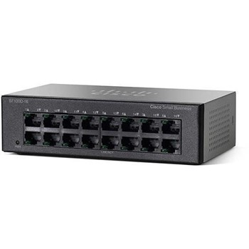 Switch Cisco 16-Port 10/100, SF100D-16