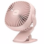 Ventilator Birou Wireless Baseus 3.5W USB 360 Pink cxfhd-04