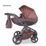 Carucior 3 in 1 Ego Brown,Krausman