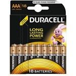 Baterie Duracell Basic AAA LR03 18buc 81483686