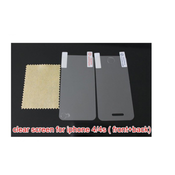 Folie protectie Mata/Anti glare Iphone4/4s Fata+Spate, la doar 12 RON in loc de 25 RON
