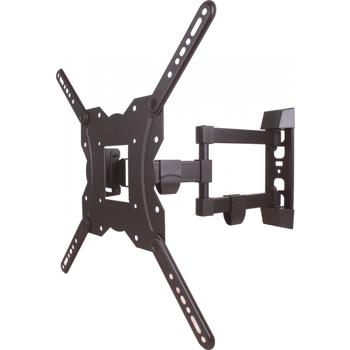 Suport TV LCD de perete 23-55 reglabil 3 brate cablu HDMI solutie de curatat Well VE-TVS-LCD-SW355P-WL