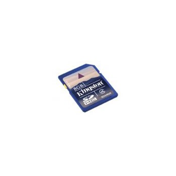 Card Kingston SDHC 8GB (Class 4)