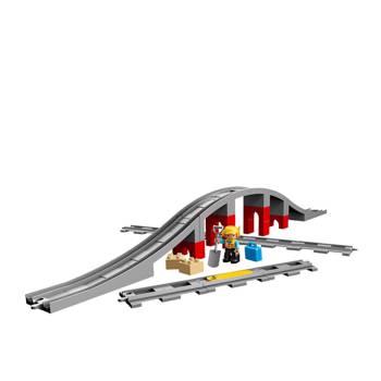 DUPLO TRAIN BRIDGE AND TRACKS