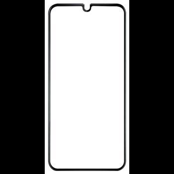Folie Devia Frame Sticla Temperata pentru Samsung Galaxy A40, Negru