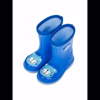 Cizme din cauciuc pentru copii Q06 Albastre 27