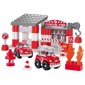 Ecoiffier - Set Statie Pompieri