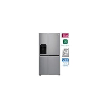 Side by side LG GSL760PZXV 601 L A+ Full NoFrost Inverter Smart Diagnosis Inox gsl760pzxv