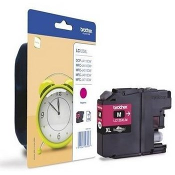 Cartus Brother LC125XLM Magenta 1000pag lc125xlm