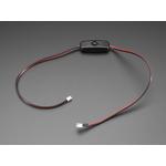 Cablu extensie sertizat JST 2 pini cu comutator ON OFF - JST PH2