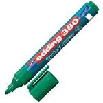 Marker pentru flipchart, varf rotund, 1.5-3mm, verde, EDDING 380