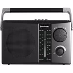 Radio portabil VORTEX VO2606, FM, Bluetooth, USB, negru