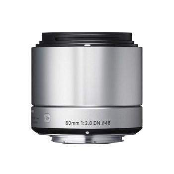 Obiectiv Foto Sigma 60mm f2.8 DN SONY-E Argintiu 125003531