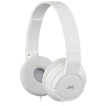 Casti On-Ear JVC HAS180 DJ ultra-usoare Albe has180w