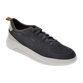 Pantofi sport GEOX bleumarin, U04ATE, din piele intoarsa