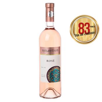 Vin roze sec Byzantium, Shiraz 0.75 l