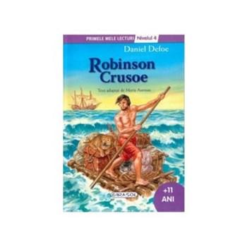 Robinson Crusoe - Primele mele lecturi - Nivelul 4