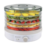 Deshidrator de alimente 245W capacitate 5kg diametru 33cm Beper BC.210 bc.210