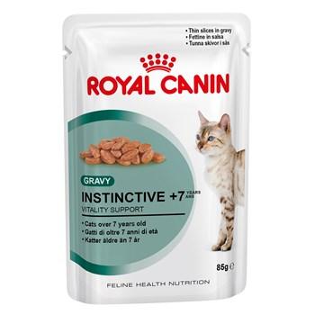 Royal Canin Feline Instinctive (7+), 12 plicuri x 85 g
