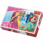 Puzzle Trefl, Printese Disney, 30 piese
