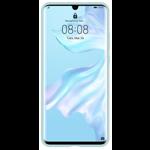 Huawei Protectie pentru spate Silicon Light Blue pentru Huawei P30 Pro