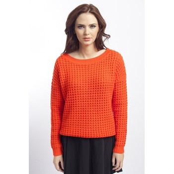 Pulover tricotat Vila portocaliu