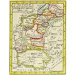 Harta Maramures, Crisana si Banat 1751