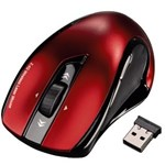 Mouse Hama 53877 laser wireless Mirano, rosu
