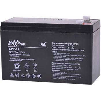 Acumulator stationar SLA MaxPower, 12 V, 7 Ah