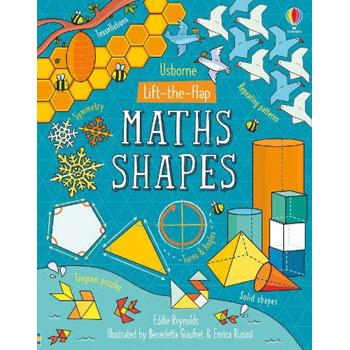 Lift-the-Flap Maths Shapes, Board book