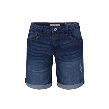 Pantaloni scurti din denim Blend albastri