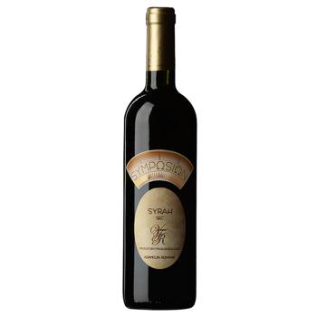 Vin rosu sec Symposion, Syrah, 0.75L