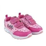 Adidasi LOL Surprise roz cu sigla LOL sport cu Leduri pentru fetite marimea 29