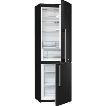 Combina frigorifica Gorenje RK61FSY2B 324L A+ FrostLess Negru CBFRK61FSY2B