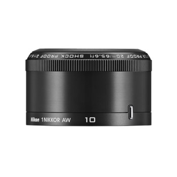 Obiectiv Nikon 1 Nikkor AW 10mm f/2.8 Black