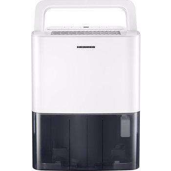 Dezumidificator Heinner HDU-M10, 10L/24h, control electronic, auto-restart, auto-oscilare, auto-dezghetare, timer 24h, 2.1L, maner, alb
