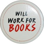 Magnet - Will Work For Books