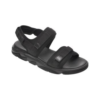 Sandale OTTER negre, 500, din material textil
