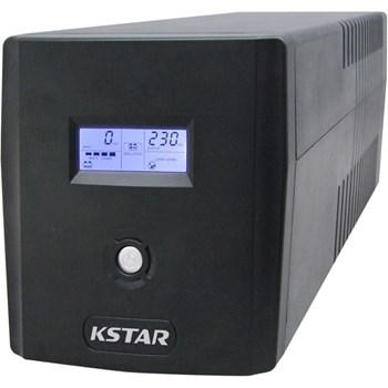 UPS KSTAR Micropower Micro 1200 LCD, 1200VA/720W, 4 x Schuko, Management