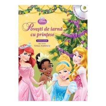 Povești de iarnă cu prințese (Carte + CD audio)