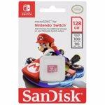 Card de memorie SanDisk microSDXC, 128GB, Nintendo Switch, UHS-I, Class 10