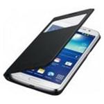 Husa S-View Cover Samsung EF-CG710BBEGWW pentru Galaxy Grand 2, Negru