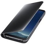 Husa Clear View SAMSUNG Galaxy S8, EF-ZG950CBEGWW, Black