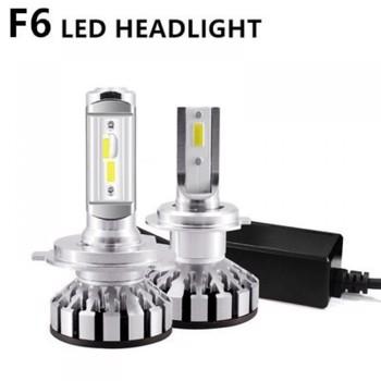 Set becuri LED auto F6, 50W, 4000Lm, 6500k - H7