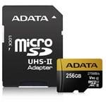 Card de Memorie ADATA Premier One microSDXC 256GB Class 10 UHS-II 275MBs + Adaptor SD ausdx256guii3cl10-ca1
