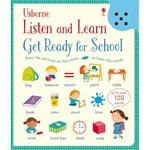 "Listen and learn ""Get ready for school"" - Carte Usborne (3+)"